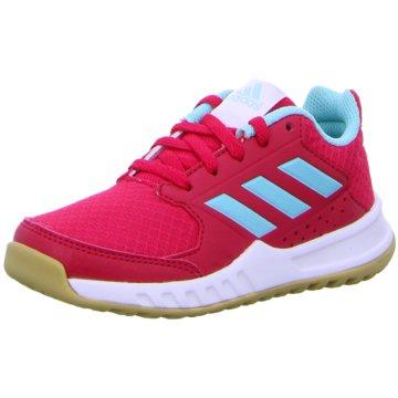 adidas Trainings- und Hallenschuh rot