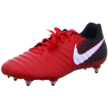 Nike Stollen-Sohle rot