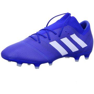 adidas Nocken-SohleNemeziz 18.2 FG blau