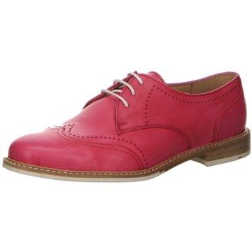 Lloyd Klassischer Schnürschuh pink