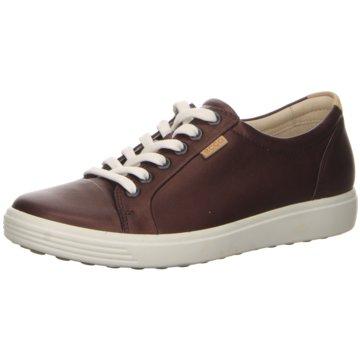 Ecco Sneaker LowECCO SOFT 7 W rot