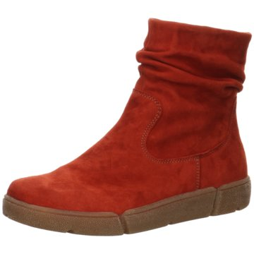 ara Bequeme Stiefel rot