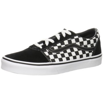 Vans Sneaker LowWard checker schwarz