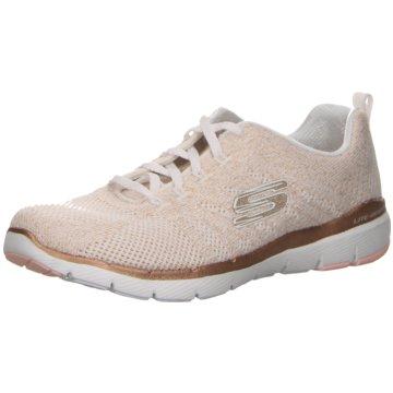 Skechers Sneaker Lowflex appeal 3.0 metal works beige