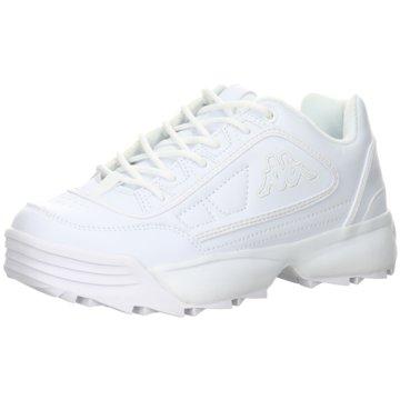 Kappa Plateau SneakerRAVE OC weiß