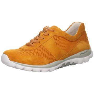 Gabor Komfort SchnürschuhSneaker orange