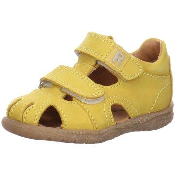 Richter Kleinkinder Mädchen gelb