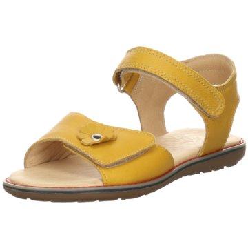 Kim Kay Offene Schuhe gelb