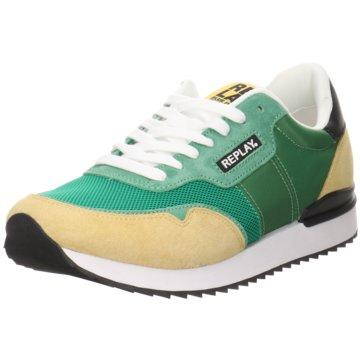 Replay Sneaker Low grün