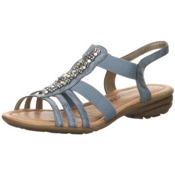 Remonte Komfort SandaleR3660-14 blau