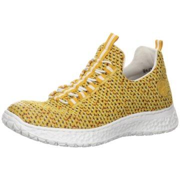 Rieker Komfort SlipperSneaker gelb