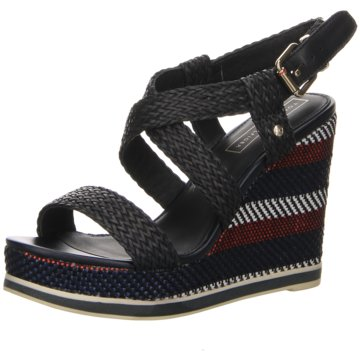 Tommy Hilfiger High Heels blau