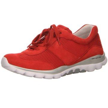 Gabor comfort Komfort SchnürschuhSneaker rot