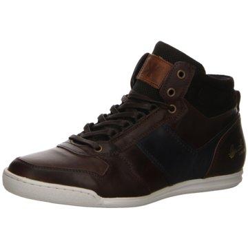 Kim Kay Sneaker High braun
