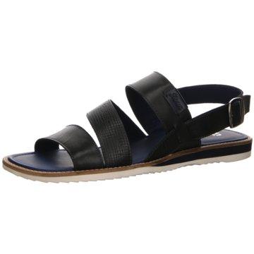 Sioux Sandale schwarz
