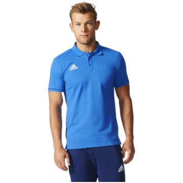 adidas PoloshirtsTiro 17 Cotton Polo Herren Poloshirt blau blau