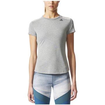 adidas FunktionsshirtsPrime T-Shirt Mix Damen Trainingsshirt grau grau