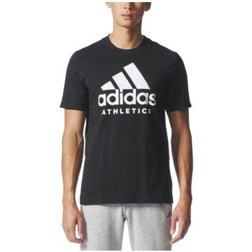 adidas T-ShirtsSport ID Branded Tee schwarz