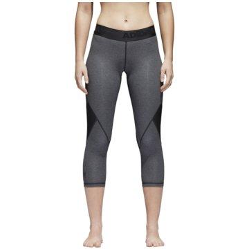 adidas TightsAlphaskin Sport 3/4 Tight Women grau