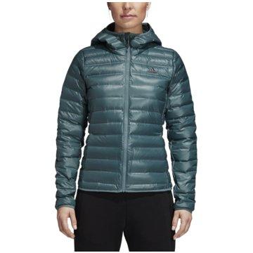 adidas Funktions- & OutdoorjackenVarilite Hooded Daunenjacke grün