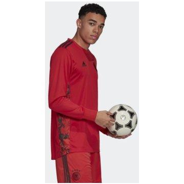 adidas FußballtrikotsDFB TORWART-HEIMTRIKOT - EH6098 rot