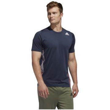 adidas T-ShirtsFL 3S+ TEE - FJ6181 schwarz