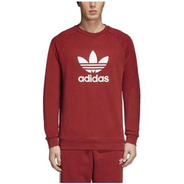 adidas SweaterTrefoil Crew rot
