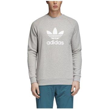 adidas SweaterTREFOIL CREW - CY4573 grau