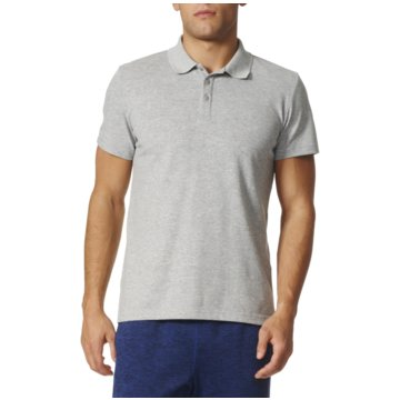 adidas PolosEssentials Base Poloshirt Herren grau grau