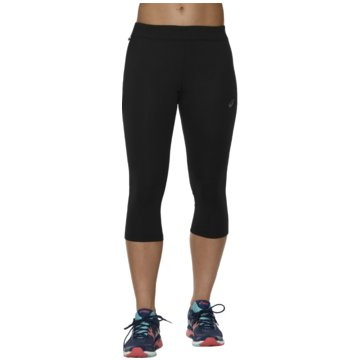 asics TightsKnee Tight Damen Laufhose Running schwarz -