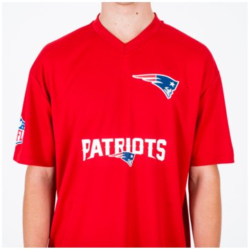 New Era Fan-T-ShirtsNFL Wordmark Jersey rot