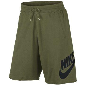 Nike Kurze HosenSportswear Shorts mit Logo oliv