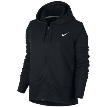 Nike DamenTrainings Hoodie Damen Kapuzenjacke schwarz -