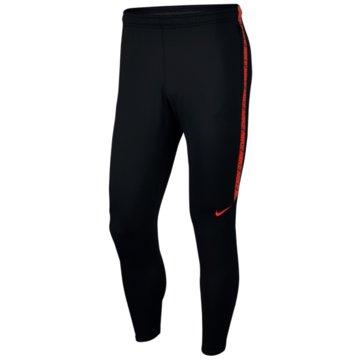 Nike Lange HosenDry Squad Pant KP schwarz