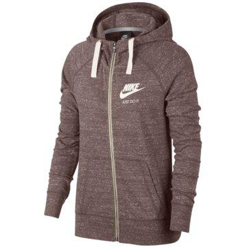 Nike SweatjackenSportswear Gym Vintage Hoodie braun