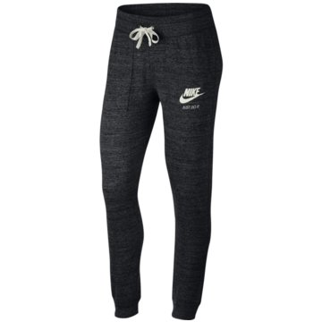 Nike Lange HosenGym Vintage Damen Trainingsshose schwarz schwarz