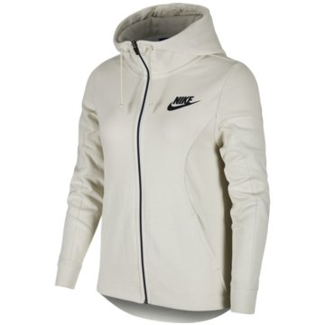 Nike FleecejackenSportswear Advance 15 Hoodie FZ Women weiß