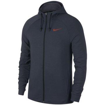 Nike Fleecejacken grau