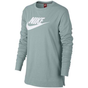 Nike LangarmshirtsSportswear Long-Sleeve T-Shirt grün