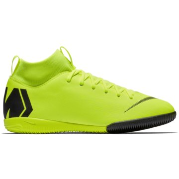 Nike Hallen-SohleMercurialX Superfly VI Academy IC gelb