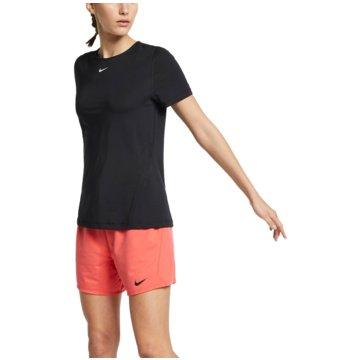 Nike T-ShirtsNIKE PRO WOMEN'S SHORT-SLEEVE MESH - AO9951 schwarz