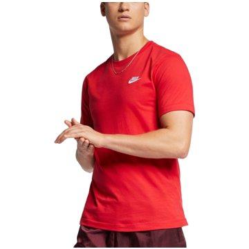 Nike T-ShirtsSPORTSWEAR CLUB - AR4997-657 rot