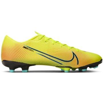 Nike Nocken-SohleNIKE MERCURIAL VAPOR 13 ACADEMY MDS gelb