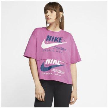 Nike T-ShirtsSportswear Short Sleeve Top lila