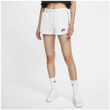 Nike kurze SporthosenNIKE AIR WOMEN'S SHORTS weiß