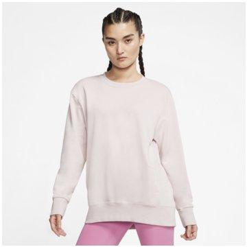 Nike SweatshirtsNIKE DRI-FIT GET FIT WOMEN'S FLEEC weiß