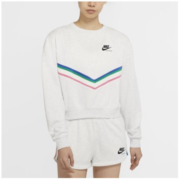 Nike SweatshirtsSportswear Women's Fleece Crew - CU5877-051 weiß