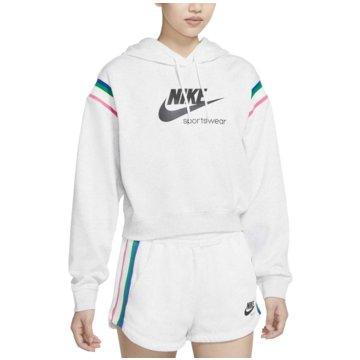Nike HoodiesSportswear Heritage Women's Pullover Hoodie - CU5923-051 weiß