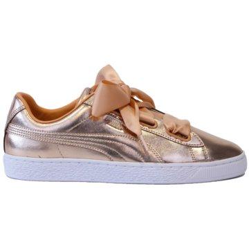 Puma Sneaker LowBasket Heart Luxe Wn  s -