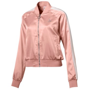 Puma TrainingsjackenEn Pointe Satin T7 Jacket rosa
